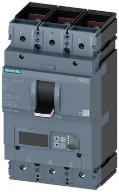 Maksimalafbryder 3VA2 IEC byggestørrelse 630, brydeevne klasse; M ICU=55KA @ 415 V 3-polet 3VA2450-5MQ32-0AA0