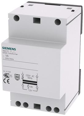 Sikkerheds transformer 24VA primær 230 V AC 50Hz sekundær 8 V 12 V AC med PTC sikring 3MW 4AC3724-0 4AC3724-0