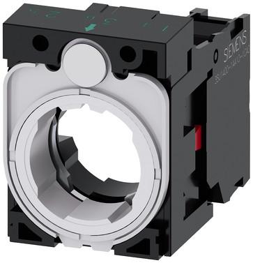 SIRIUS ACT Holder for 3 moduler plastik 1 NC skrue terminal 3SU1500-1AA10-1CA0