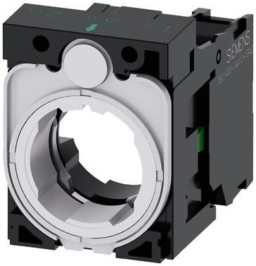 Holder for 3 moduler, plastik, 1NO, 3SU1500-1AA10-1BA0