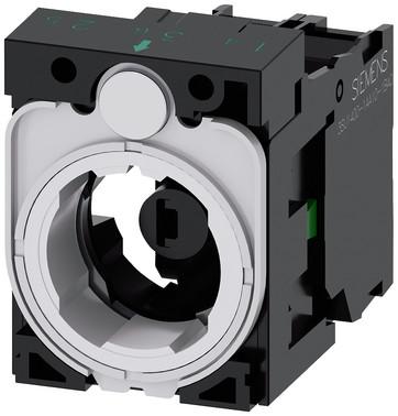 SIRIUS ACT Holder for 3 moduler plastik 1 NO LED modul neutral 3SU1501-1AG00-1BA0