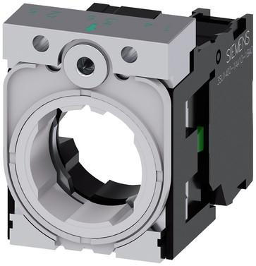 Holder for 3 moduler, Metal, 1NO, 3SU1550-1AA10-1BA0