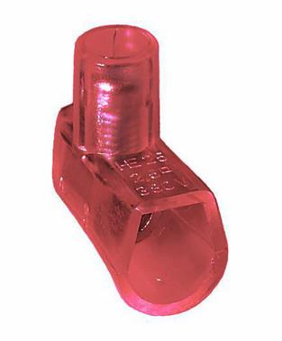 Samlemuffe rød 2,5mm² enkelt i pakker á 100 styk HE25-1 RØD