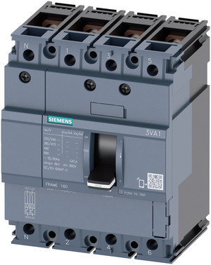 Maksimalafbryd,fs160,32A,4p,25ka,tm210 10 x in kabel ubeskyttet 3VA1132-3ED46-0AA0