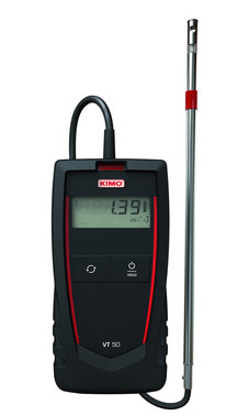 Portable hotwire thermo-anemometer with stainless steel remote probe 5706445790494
