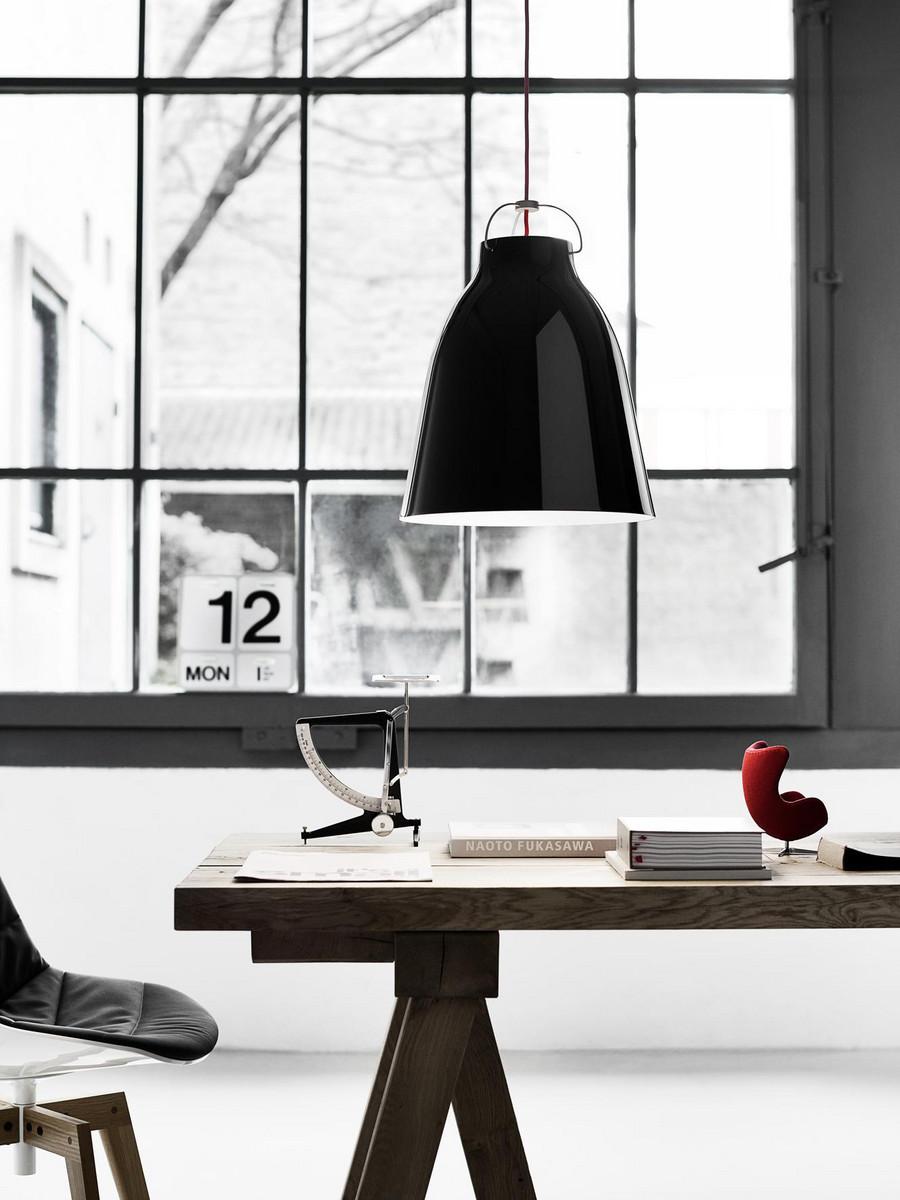Caravaggio P3 Black Pendel