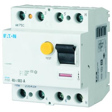 Fejlstrømsafbryder 40 A 4P 30 mA type A PFIM-40/4/003-A-MW 235439