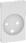 LK FUGA antibakteriel afdækning for hospital stikkontakt 2-polet + DK jord 1½ modul, hvid 580D6631 miniature