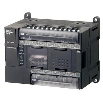 PLC, 24VDC forsyning, 18x24VDC input, 12xrelæudgange 2A, 8K trin program + 8K-ord datalager, RS-232C port CP1E-N30DR-D 298945