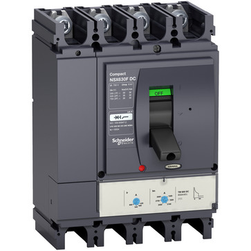 Maksimalafbryder NSX600F TM600 DC 4P LV438264
