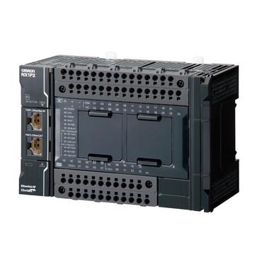 Sysmac NX1P CPU med 40 Digital Transistor I/O (PNP), 1,5 MB hukommelse, EtherCAT (4 servoAkser, 4 PTPAkser, 16 EtherCAT knudepunkter), EtherNet/IP og 2 serielle option porte NX1P2-1140DT1 672501