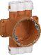 Dåse for pladeloft, type PL 55/16 mm 1020007516