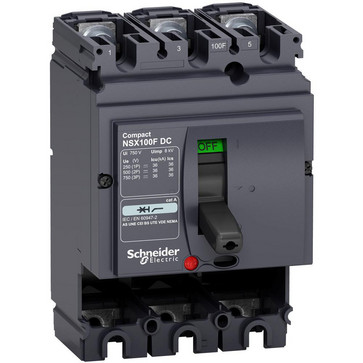 Maksimalafbryder DC NSX100F 3P LV438003