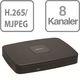 4K NVR 8 kanaler med 8 ports PoE switch 80 Mbit/s, NVR4108-8P-4KS2 7885231356