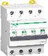 Acti9 iC60 kombiafbryder 4P, 16A, 415V, 30mA, 6kA, klasse A, C-karakteristik. Bredde 72 mm. 3322050489