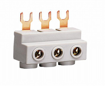 Insulated busbar for 3 motor starters 3P KD303M