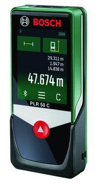 Green Bosch Laser MeasurePLR 50 C 0603672200