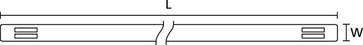 Sporbare TipTags 11x65mm TTAGMC11BEX65S 556-26500