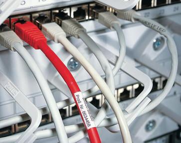 Selvlaminerende label Ø 10,0 til 22,2mm til TT431 printer, 596-06320 596-06320