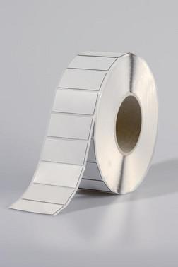 Panel label 45x15 hvid til TT431 printer 596-00567