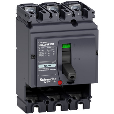 Maksimalafbryder DC NSX250F 3P LV438203