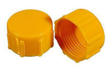 "Threaded sealing cap R3/8""x19 PEHD yellow 91 03000"
