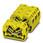 Minigennemgangsklemme MSDBV 2,5-M YE 3073241 miniature