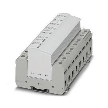 Lynstrøms-/overspændingsaflederkombinationer, type 1+2 FLT-SEC-T1+T2-3S-350/25-FM 2905470