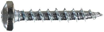WOODSCREW 3,5 X 20 PANHEAD ZINC PLATED 127117