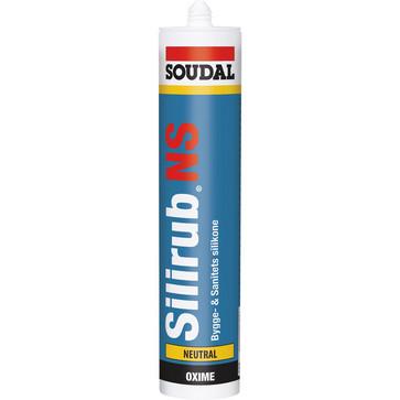 Silirub NS Sanitets og bygge silicone Klar 310 ml 127423