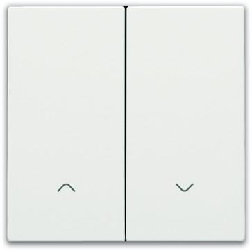 Tangent til smart motorbetjening, white coated 154-31006