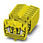 Minigennemgangsklemme MSB 2,5-RZ YE 3244203 miniature