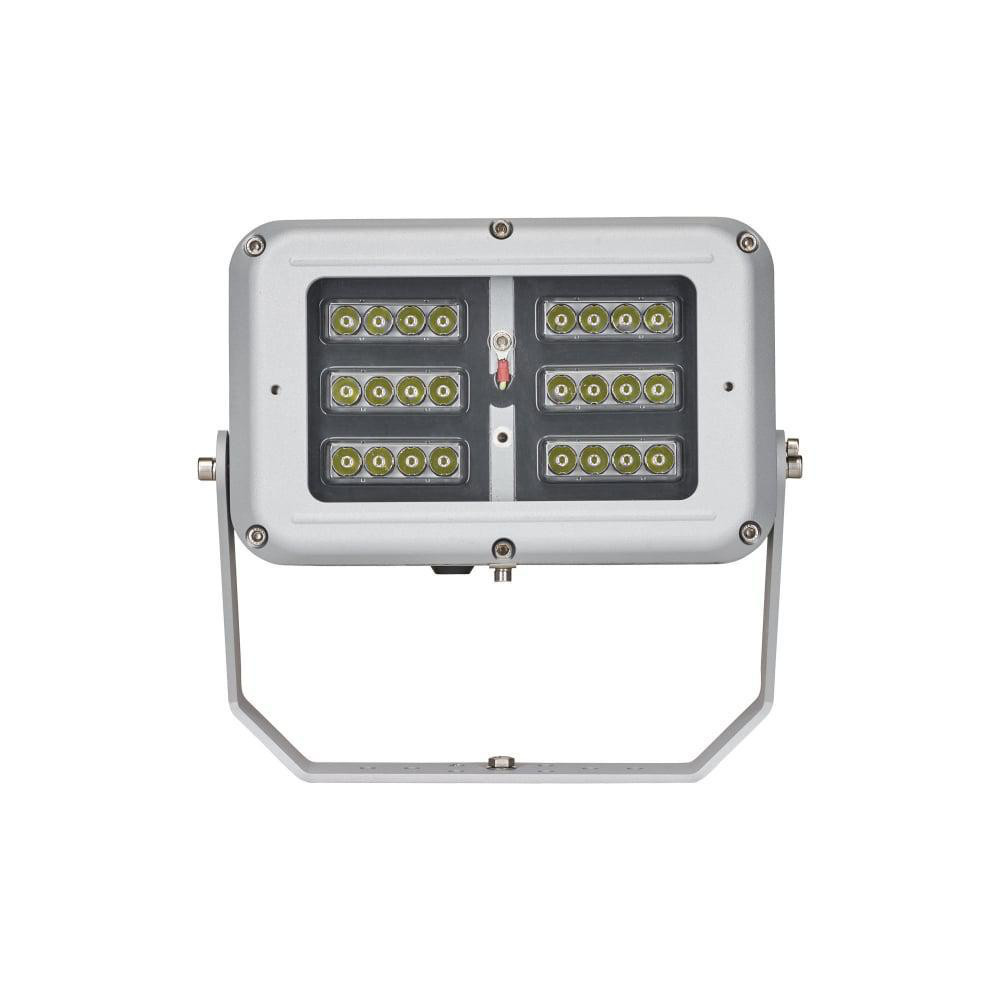 SPARTAN Flood 24 LED Medium, Zone 1/21, White-Light 50°x50° 6000K 5000lm/68W