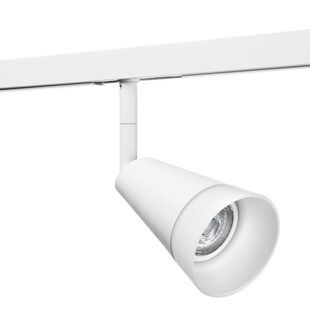 Zip 230V Glas Spot Mat-hvid 6W DimToWarm