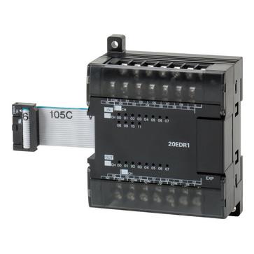 I/O-udvidelse unit, 12x24VDC input, 8xrelæudgange 2A CP1W-20EDR1 670923