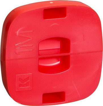 FUGA dåse for indstøbning gul  låg 1 modul, rød 104D002120