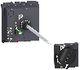 Drejegreb + dørkobling - sort - til NSX400-630 3322704748