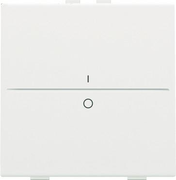Tangent med IO symedbol til 2-tryk, white coated 154-00002