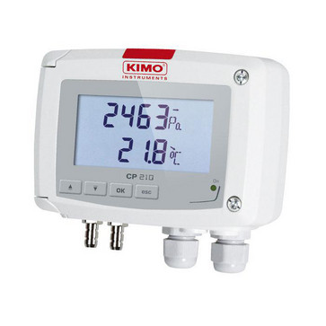 CLASS 210-R PRESSURE TRANSMITTERS Differential pressure transmitter, Configurable range from -100 / +100 Pa up to -2000 / 2000 mBar, 5706445790364