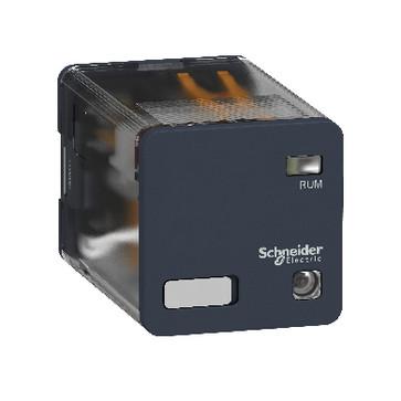 Stikbensrelæ 10A 3C/O 230VAC RUMC33P7