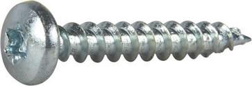 Wood Screw Full Thread Pan Head 127189