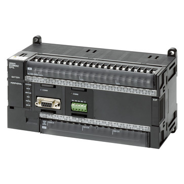 PLC, 24VDC forsyning, 36x24VDC input, 24xrelæudgange 2A, 10K trin program + 32K-ord datalager CP1L-M60DR-D 668676
