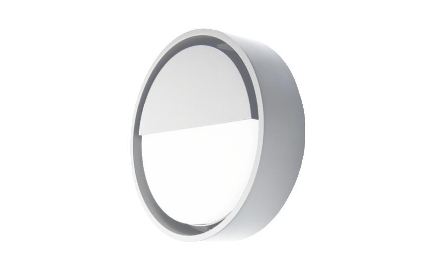 Frame Round Wall Hvid 7W LED 3000K