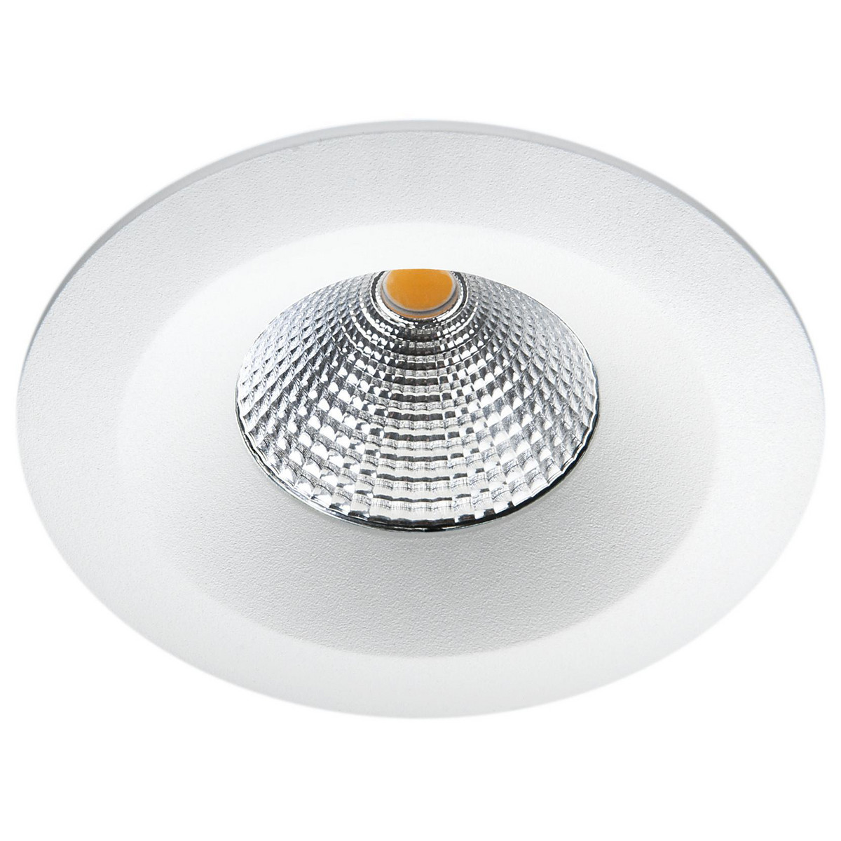 Uniled IsoSafe Airtight IP65 Mat-Hvid 7W LED 3000K