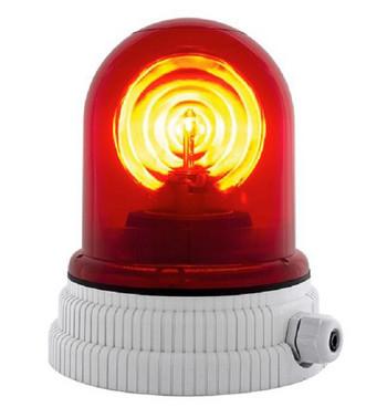 Roterende lampe 24V - Rød, 200R, 24 26363