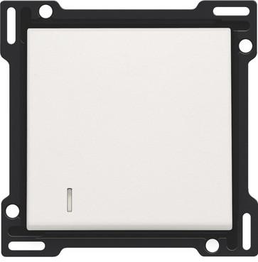 Tangent, enkelt, m linse, white 101-60005