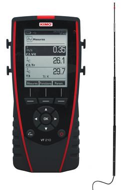Kimo VT210 Hotwire anemometer 5706445790173