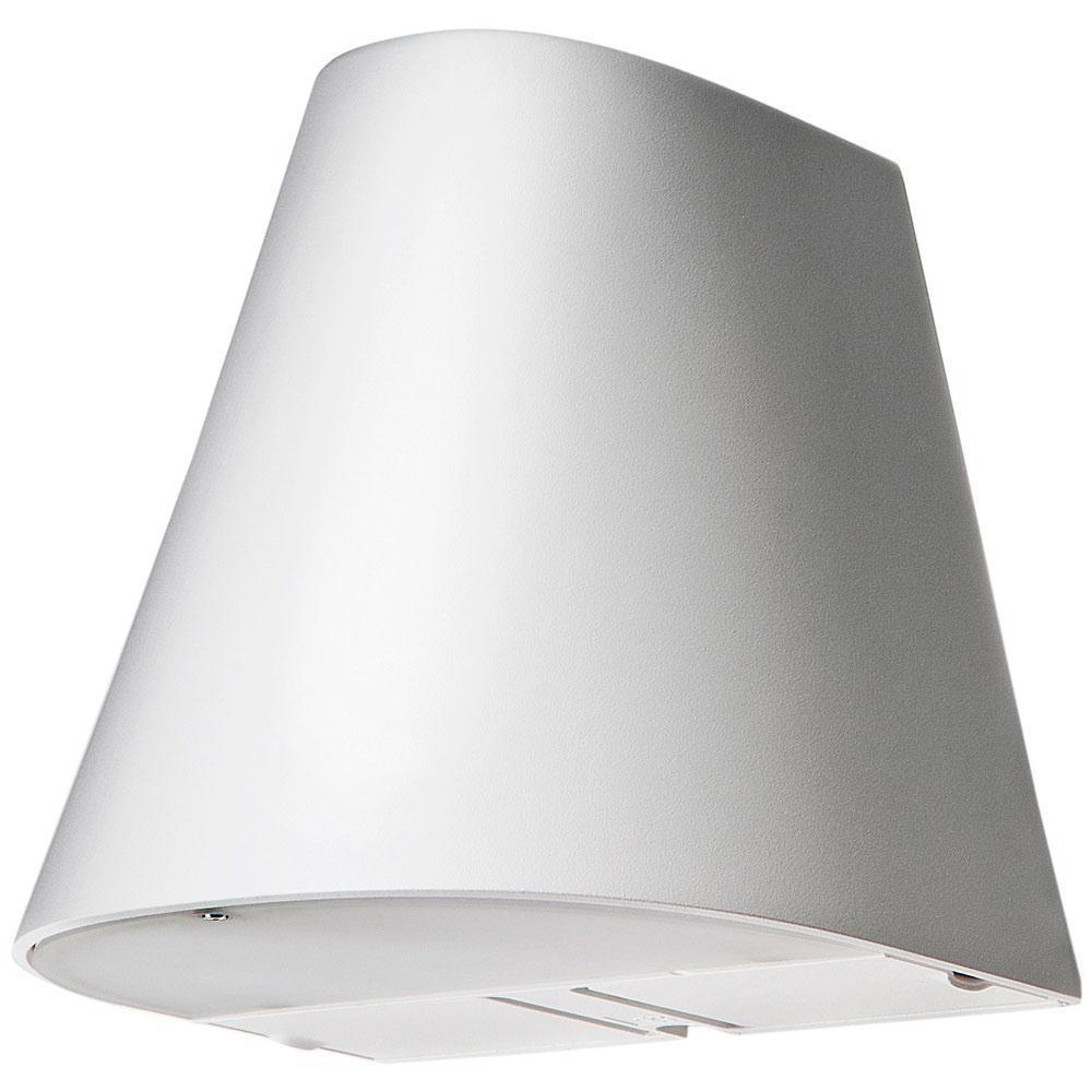 Spike Mat-Hvid 19W 1100 LED 3000K m/Stik, Uplight & Skumring