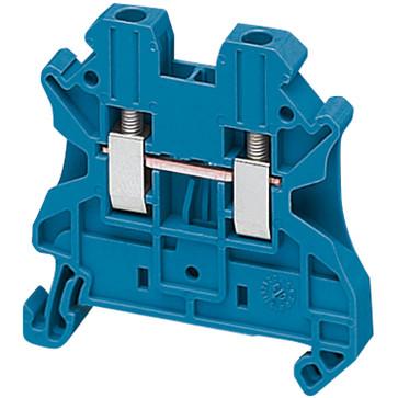 Gennemgangsklemme 2,5mm², blå NSYTRV22BL