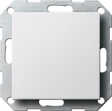 Blindafdækning med holdering System 55 hvid blank 026803